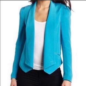 NWT Rebecca Minkoff Becky Jacket- Turquoise
